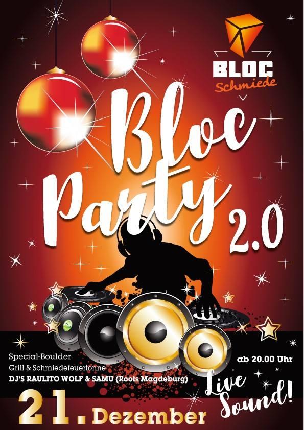 Bloc Party Flyer